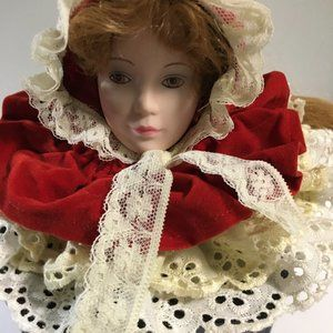 Music Box Little Red Riding Hood Vintage